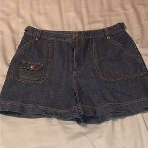 Vintage denim shorts!